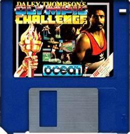 Daley Thompson's Olympic Challenge - Commodore Amiga ...