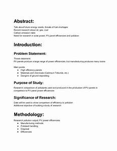 Simple Research Proposal Example Professional Course Work Example Of
