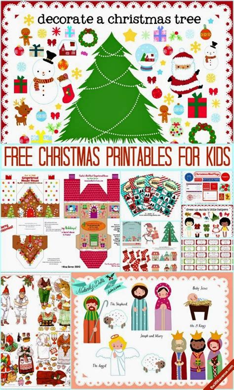 christmas printables  activities  homeschool