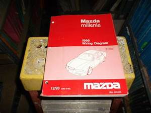 1995 Mazda Millenia Sedan Electrical Wiring Diagram Manual
