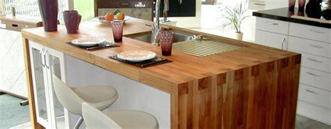paillasse cuisine plan de travail bois massif cuisine et salle de bain