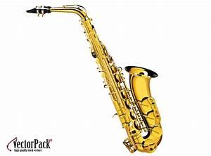Free Saxophone, vector graphic - 365PSD.com