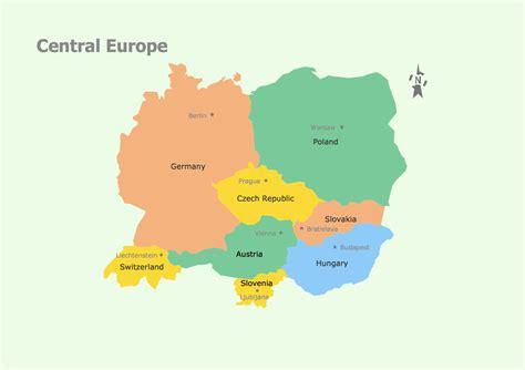 geo map europe