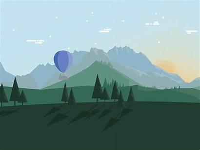 Dribbble Space Canvas Illustration Ali Creative Griffin