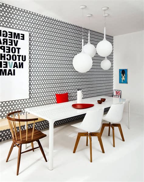 eye catching dining room wallpapers   amaze