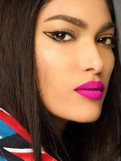 makeup zodiac sign sagittarius looks eyeliner lip summer graphic pink allure close trend