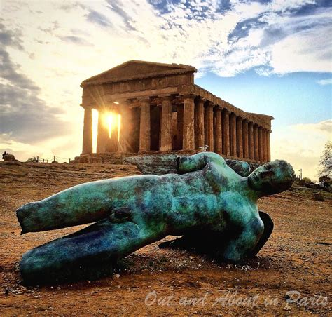 The Valley Of agrigento and the ancient valley of the temples