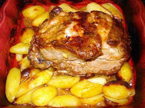 recette de c 244 te d echine au four recette portugaise