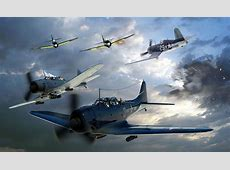 Douglas SBD2 Dauntless Dive Bombers A10 by drewhammond