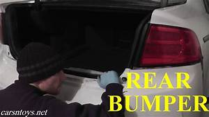 Acura Tl Rear Bumper Replacement With Basic Hand Tools Hd