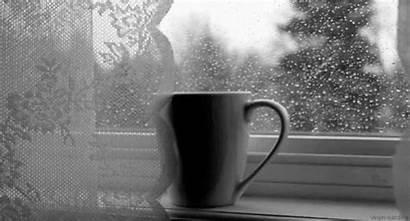 Coffee Rain Starbucks Gifs Latte Espresso Dancing