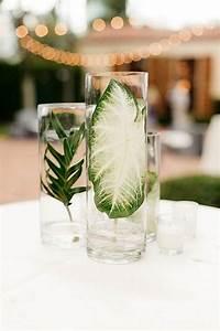 2018 Trend  Tropical Leaf Greenery Wedding Decor Ideas
