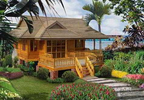 model rumah panggung sunda minimalis gambar desain rumah