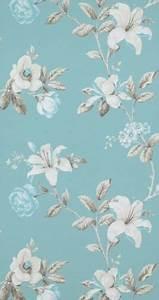 Tapete Blau Muster : vlies tapete florales blumen muster blau tuerkis creme braun summer breeze 17882 prints ~ Orissabook.com Haus und Dekorationen