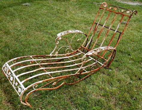 chaise ée 60 45 best images about vintage iron patio on
