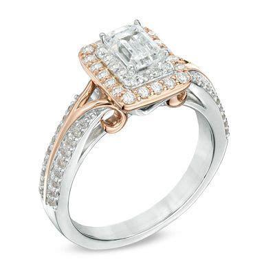 vera wang love collection  ct tw emerald cut diamond