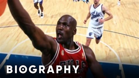 michael jordan basketball player mini bio bio youtube