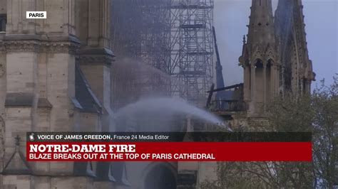notre dame fire    important site  french