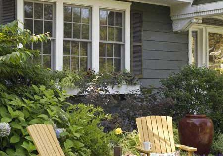 private  inviting front yard gardens adirondack chairs  front yards