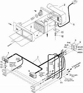 snow plow head light wiring schematic snowplowing With meyers plow headlight wiring diagram