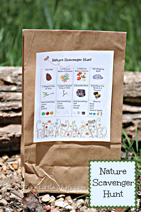 nature scavenger hunt  kids fun family crafts