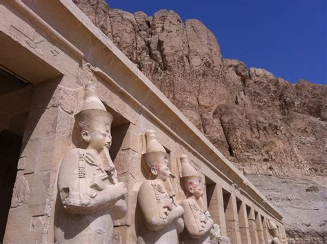 Luxor Egypt The Treasures Of Queen Hatshepsut Valley