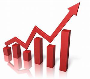 Chart clipart growth rate - Pencil and in color chart ...