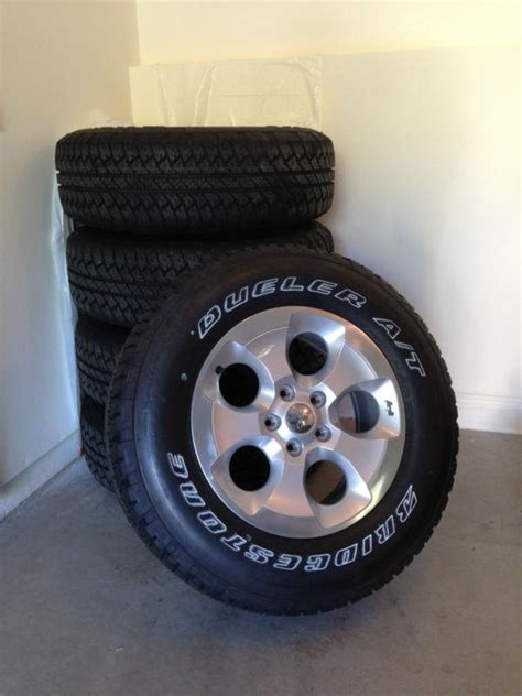 stock jeep wheels and tires sell 2013 jeep wrangler sahara stock 255 70 r18 wheels and