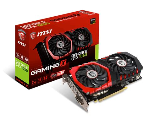 vga msi gtx 1050 overview for geforce gtx 1050 gaming x 2g graphics card