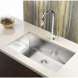 best stainless steel kitchen faucets 36 inch stainless steel undermount single bowl kitchen sink zero radius design