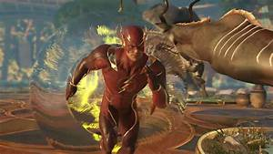 Injustice 239s Flash Gameplay Trailer Reveals His Time