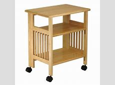 Mission Style Table, Folding Printer Stand Winsome Wood