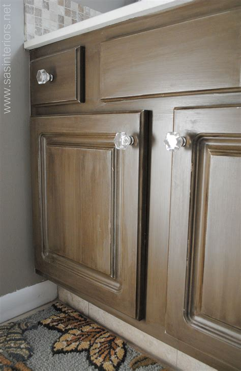 paint and glaze kitchen cabinets how to glaze a cabinet using stain burger 7271