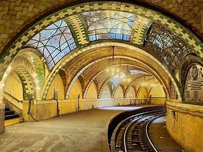 Abandoned Places Stunning Earth York Subway Station