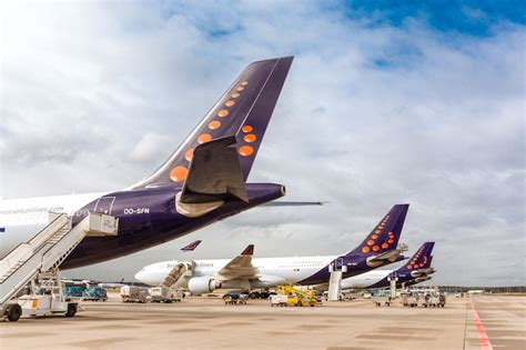 Brussels Airlines scraps hundreds of flights amid Thomas ...