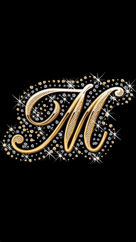 diamond bling wallpaper alphabet wallpaper monogram wallpaper