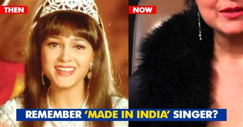 Remember Famous 'made In India' Singer Alisha Chinai? She