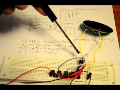 Electronic Tutorial How Make Sound Effects Circuit