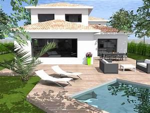 Maison En L Moderne : constructeur maisons l on lb cr ation ~ Melissatoandfro.com Idées de Décoration