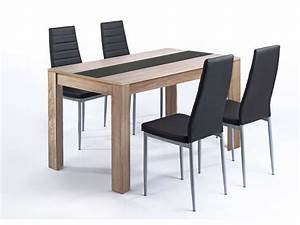 Conforama Table Et Chaise : ensemble table et 4 chaises pegasus vente de ensemble ~ Dailycaller-alerts.com Idées de Décoration