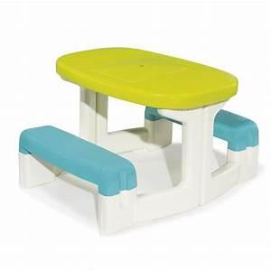 Table Pique Nique Enfant : smoby table pique nique enfant achat vente table de ~ Dailycaller-alerts.com Idées de Décoration