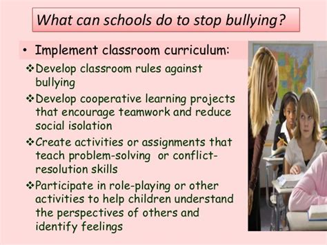 Preventing School Bullying
