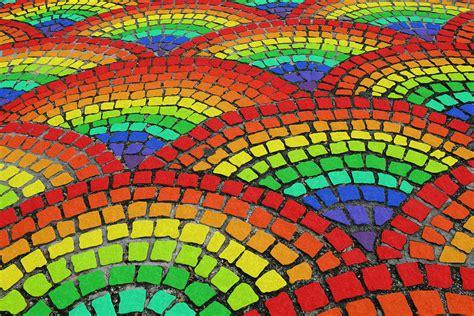 rainbow tiles unicorn shit