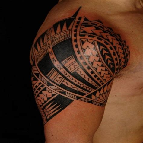 tatouage polynesien homme  femme significations idees