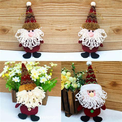 christmas tree fabric santa snowman reindeer ornaments