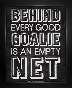 Behind Every Good Goalie Saying 8x10 Sport Poster Print ...