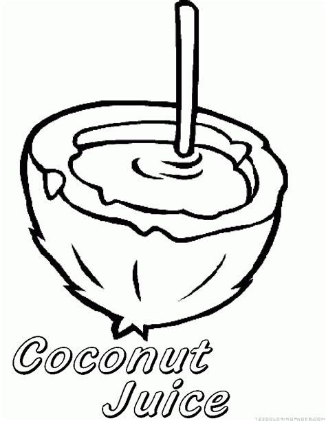coloring coconut coconut coloring page coloring home