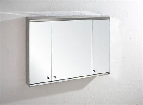 800mm Wide Triple Door Large Biscay Wall Mount Mirror