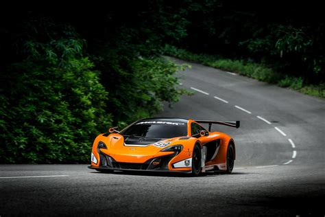 Mclaren Unveils 650s Gt3 Race Car At The Goodwood Fos