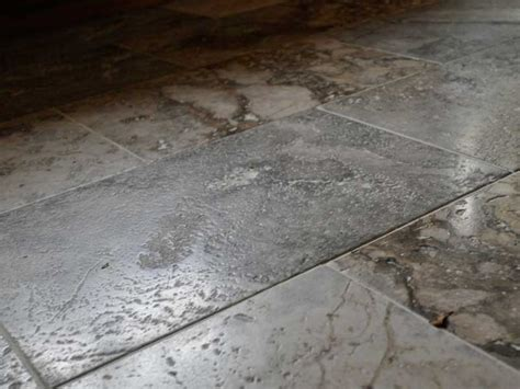 silver flooring silver travertine floor tiles floors pinterest